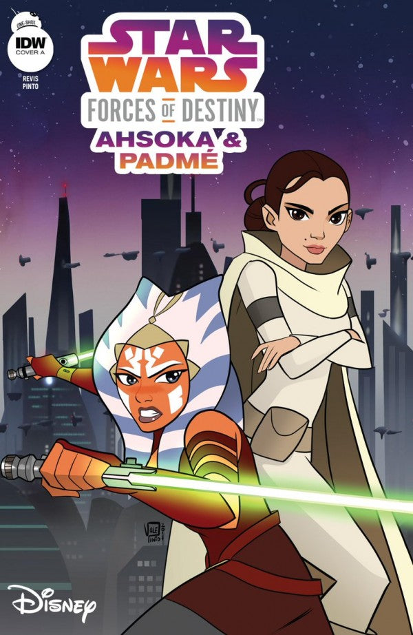 Star Wars Adventures: Forces of Destiny - Ahsoka & Padme # 1