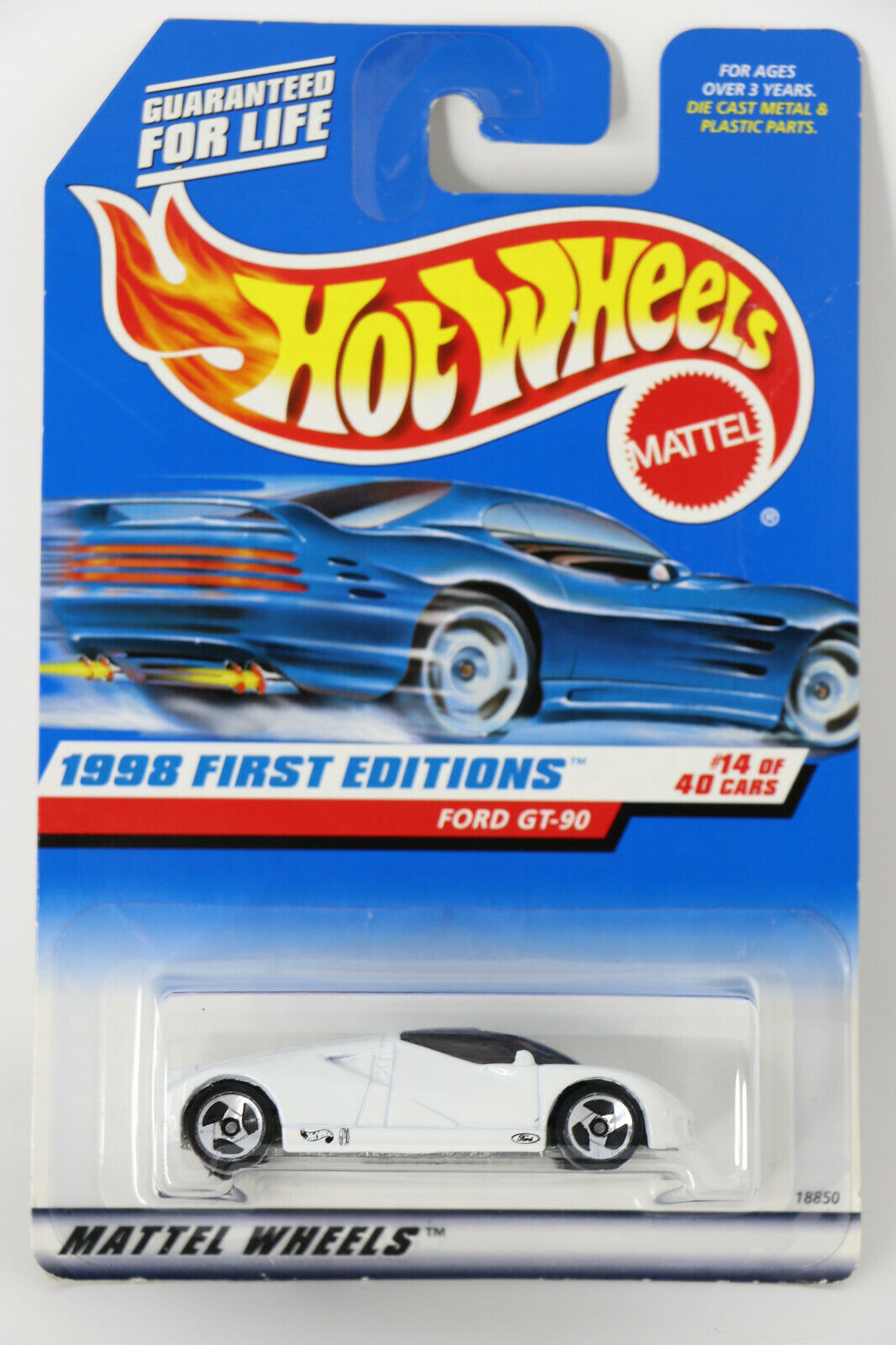 Ford GT-90 #668 1998 - Hot Wheels