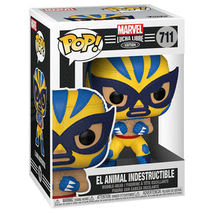 El Animal Indestructible (711) Marvel Lucha Libre Edition