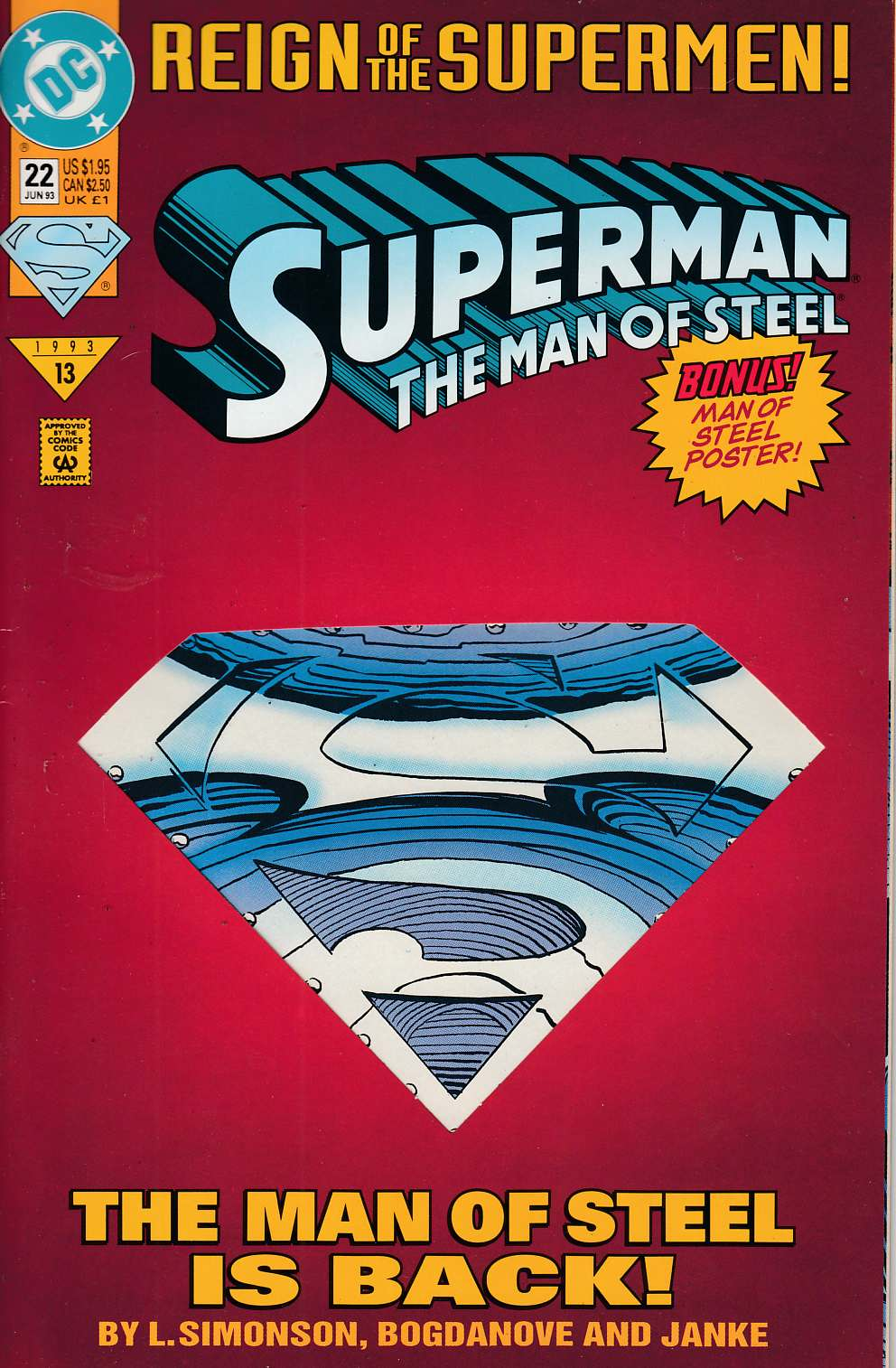 Superman: Man of Steel 	# 22