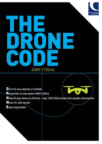 image of civil aviation authority drone code