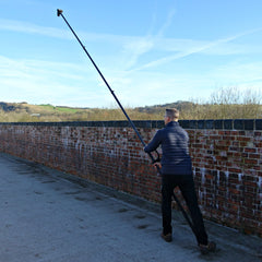 Vantage Point Products, How to capture a Nadir shot with a carbon fibre photography mast, 18ft 5.5m Carbon Fibre Aerial Photo and Video Mast - Strong - Rigid - Compact, Osmo or DSLR Ready - No Tripod - No Drone Required - UK Design - £595.95 Ex VAT