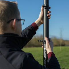 How to extend a Vantage Point Products 3K carbon fibre photography mast camera pole