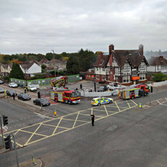 Vantage Point Products Eastleigh Hampshire fire police search and rescue aerial photography carbon fibre camera pole
