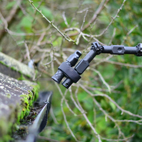 Vantage Point Products image of wireless inspection camera rugged weatherproof mounted on gardiner pole