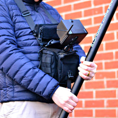 Vantage Point Products ESSENTIAL Inspection Kit - multi-purpose waist bag doubles up as a chest mount for your DVR