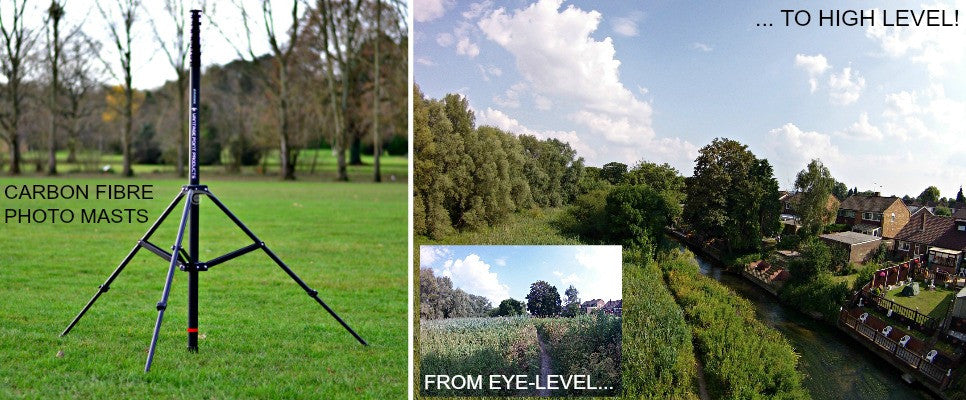 Vantage Point Products - Low-Altitude Aerial Photography Masts, Monopods and Accessories