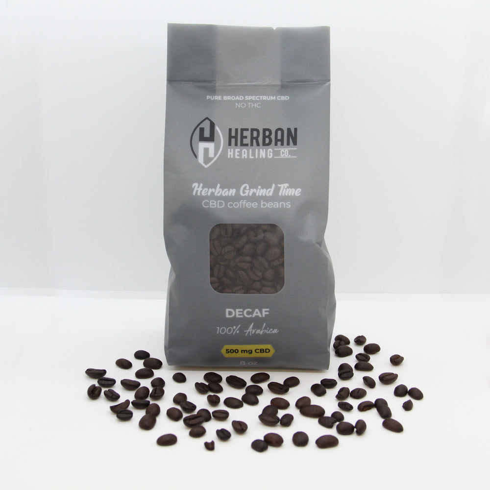 Herban Grind Time Coffee Beans - Decaf