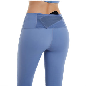 Women High waist Yoga leggings image 2