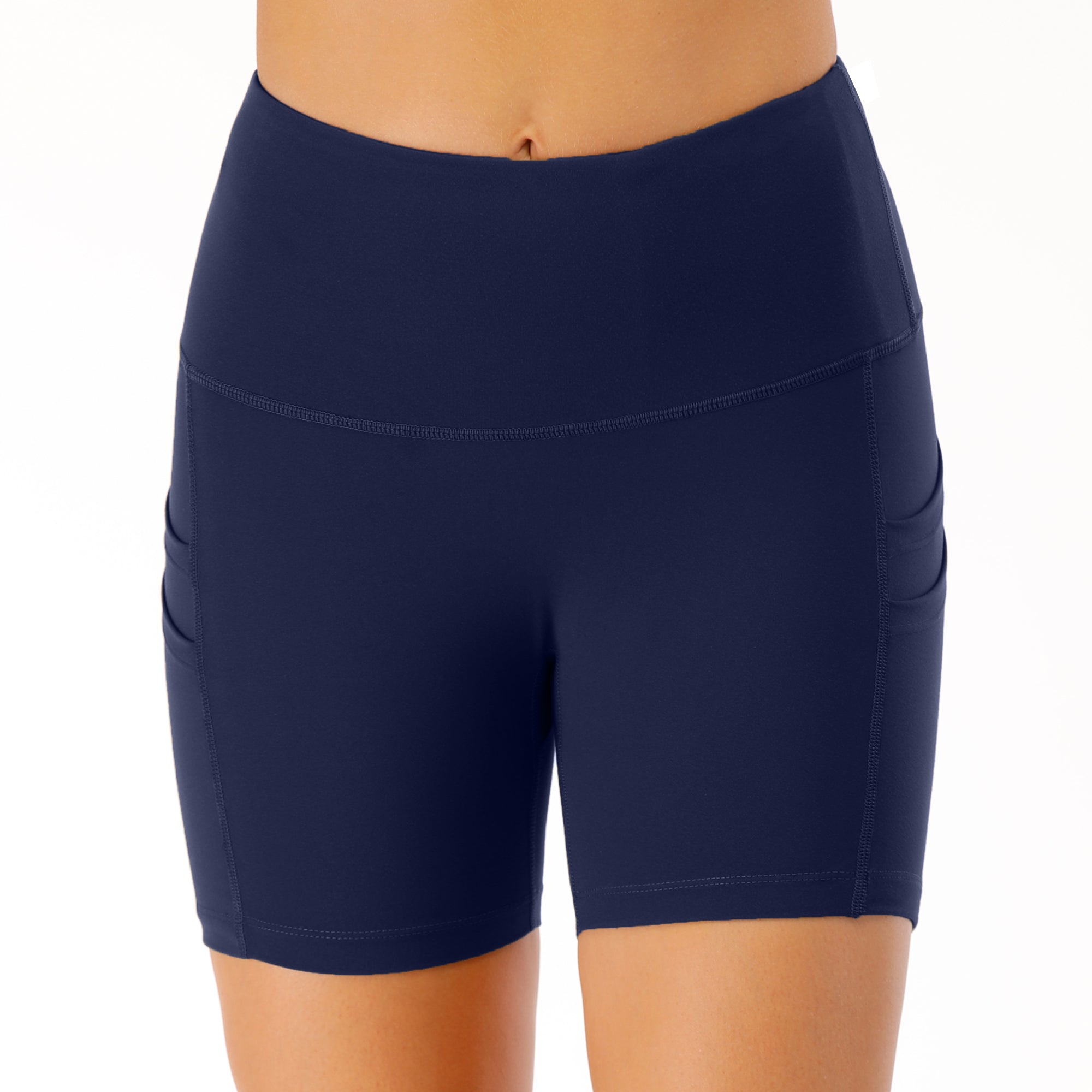 Women's Running Shorts with Phone Pocket image 6