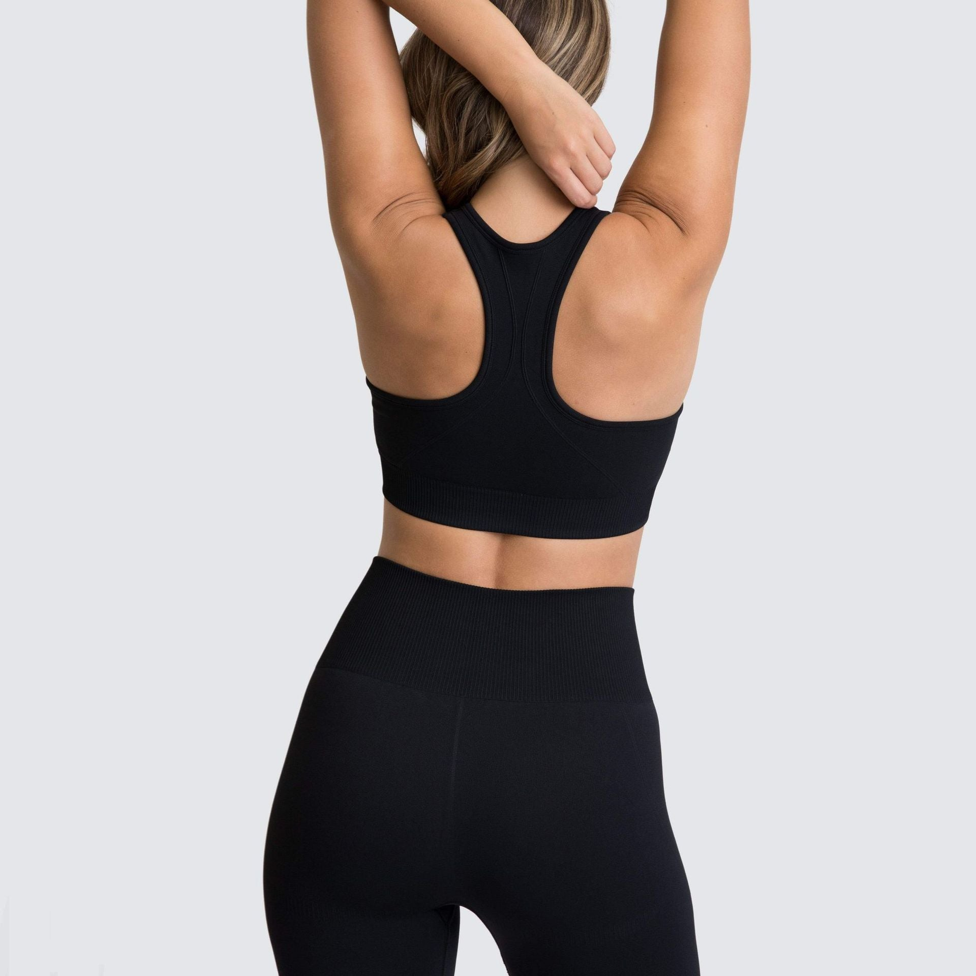 Wome's High Waist Yoga Leggings Black
