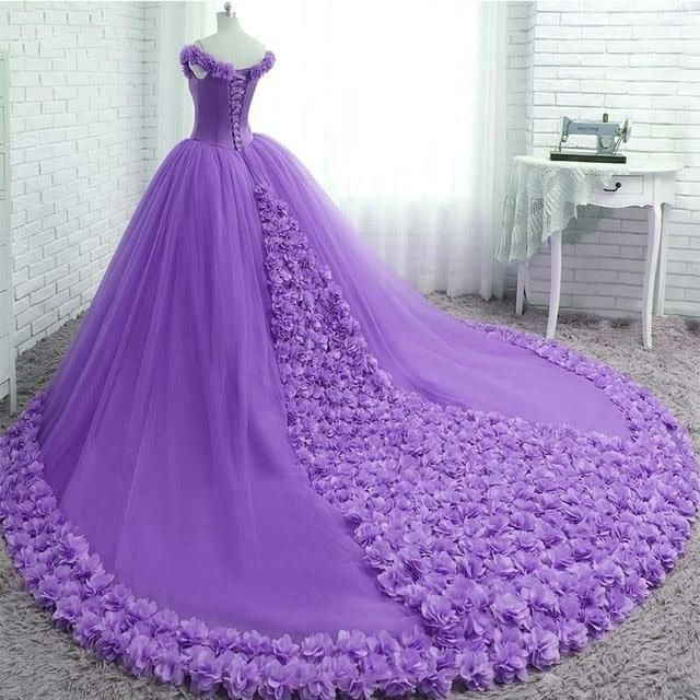 Quinceanera Dress Pink Ball Gown 3D Flowers Princess Corset Tulle Sparkles Sweet 16 Dresses Vestido De Debutante