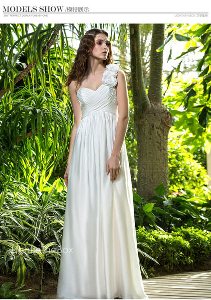 new fashion white long Formal gown bridesmaid dresses