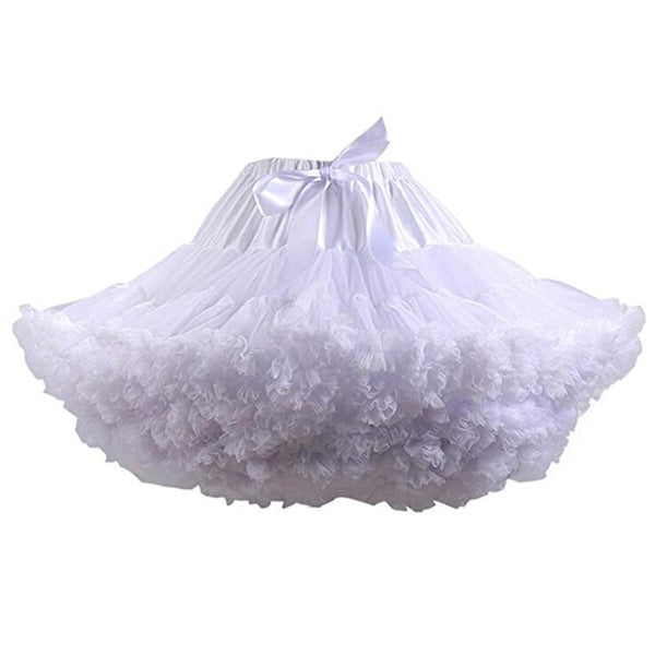 Cotton petticoat solid ballet skirt easy to match jacket  shirt leggings  chiffon skirt leotard