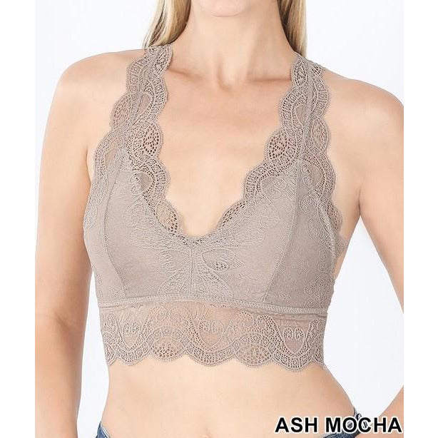 Marie Stretch Lace Bralette