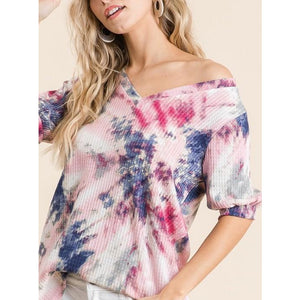 Tie Dye Baby Thermal Top