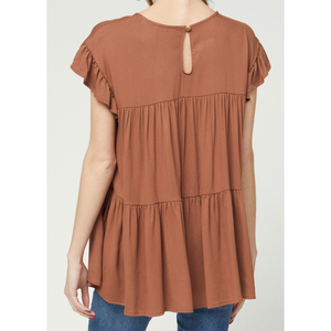 Tiered Babydoll Top