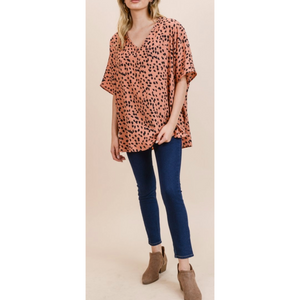 Polkadot Boxy Top