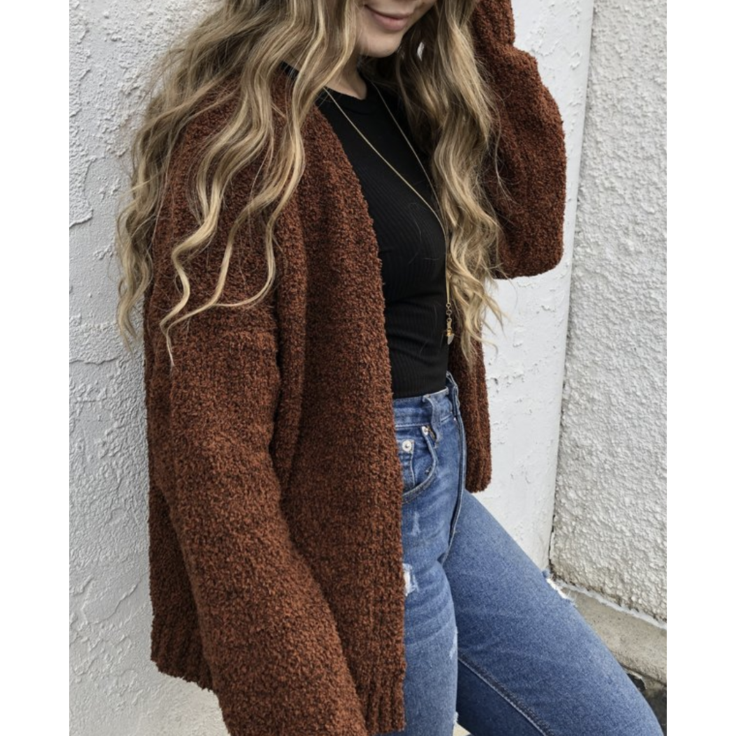 Long Sleeve Soft Cardigan