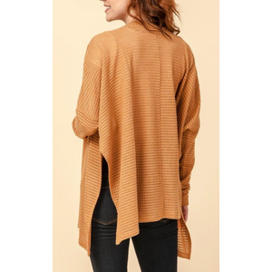 Long Sleeve Poncho Style Cardigan
