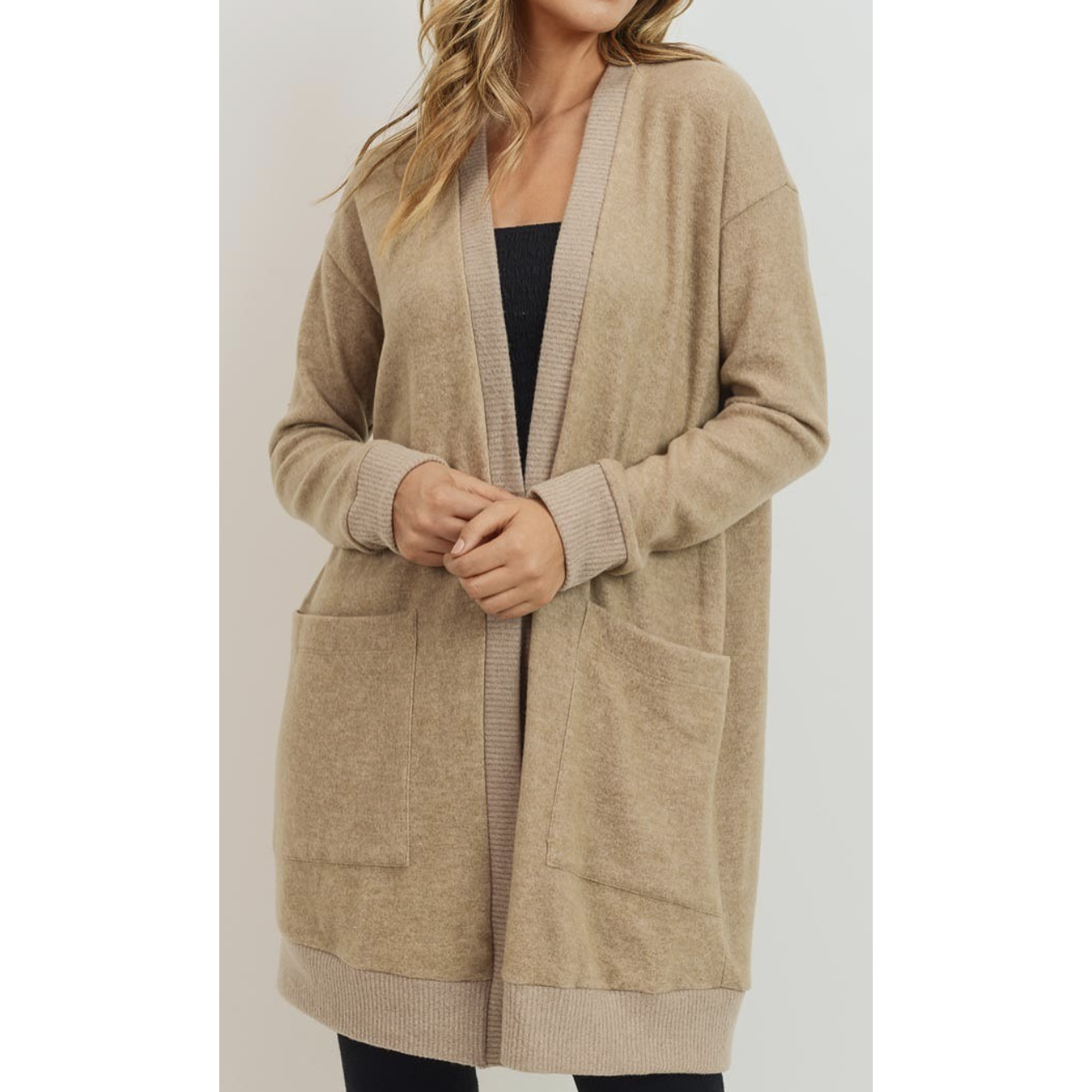 Wool Brush Cardigan