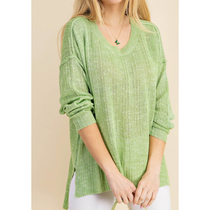 Knit Spring Sweater