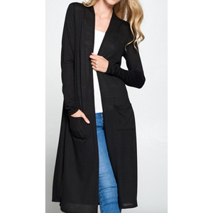 Side Slit Cardigan