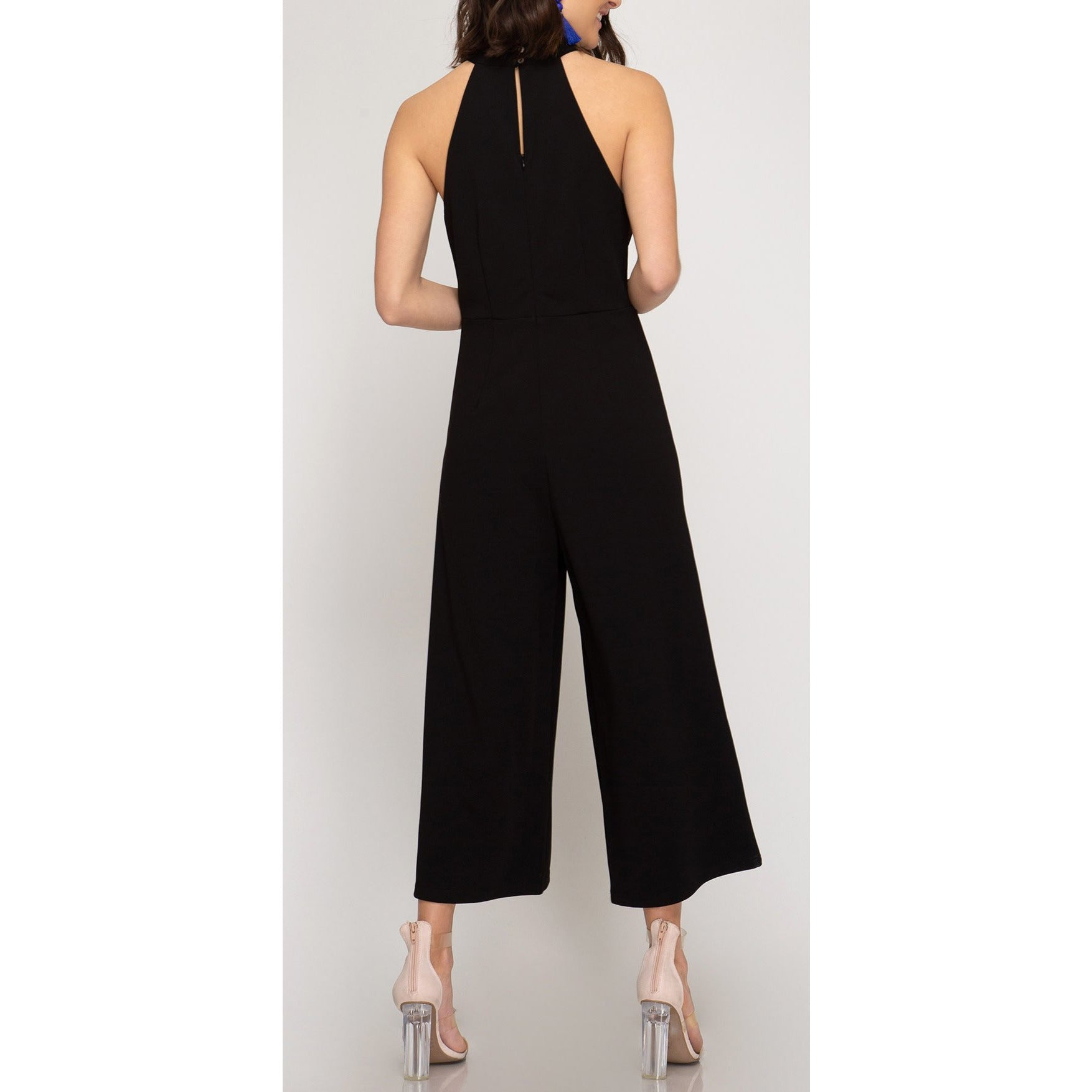 Halter Neck Jumpsuit