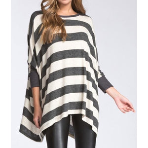 Monroe Striped Tunic