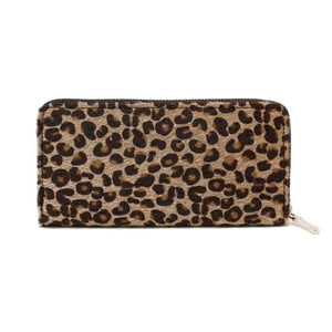 Cheetah Print Wallet Clutch