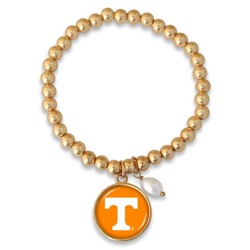 UT Beaded Stretch w/Pearl Accent