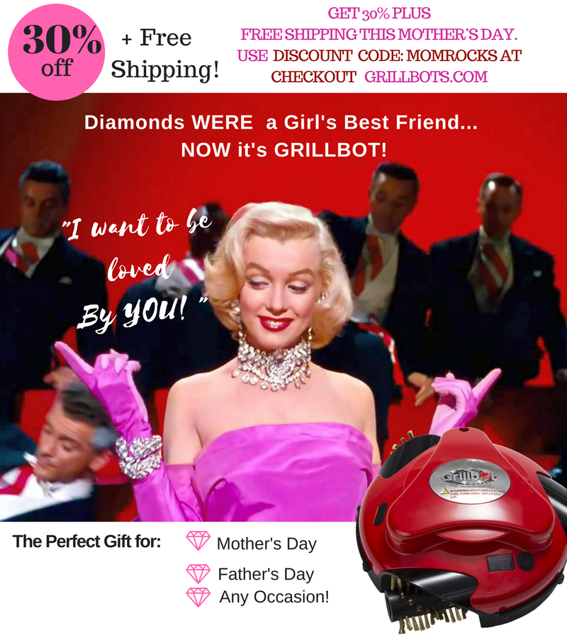 Save Now Thru May 14th! 30% Off Grillbots Plus Free Shipping!