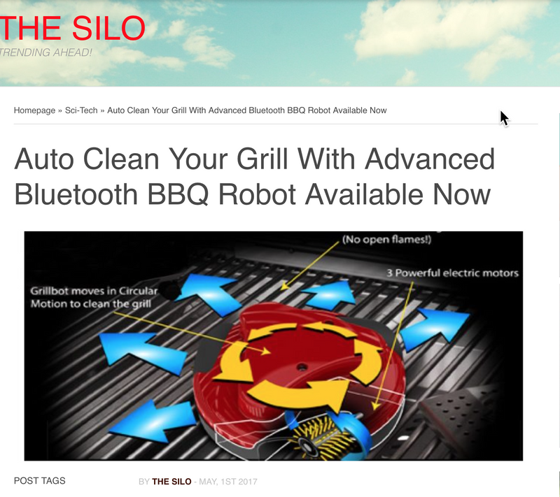 Bluetooth Grillbot?! Read the News from The Silo.ca