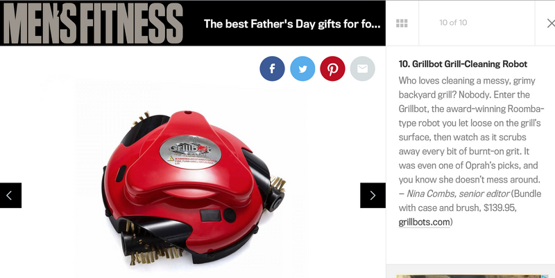 Men's Fitness: The Best Father's Day Gifts for Foodie Dads 2017
