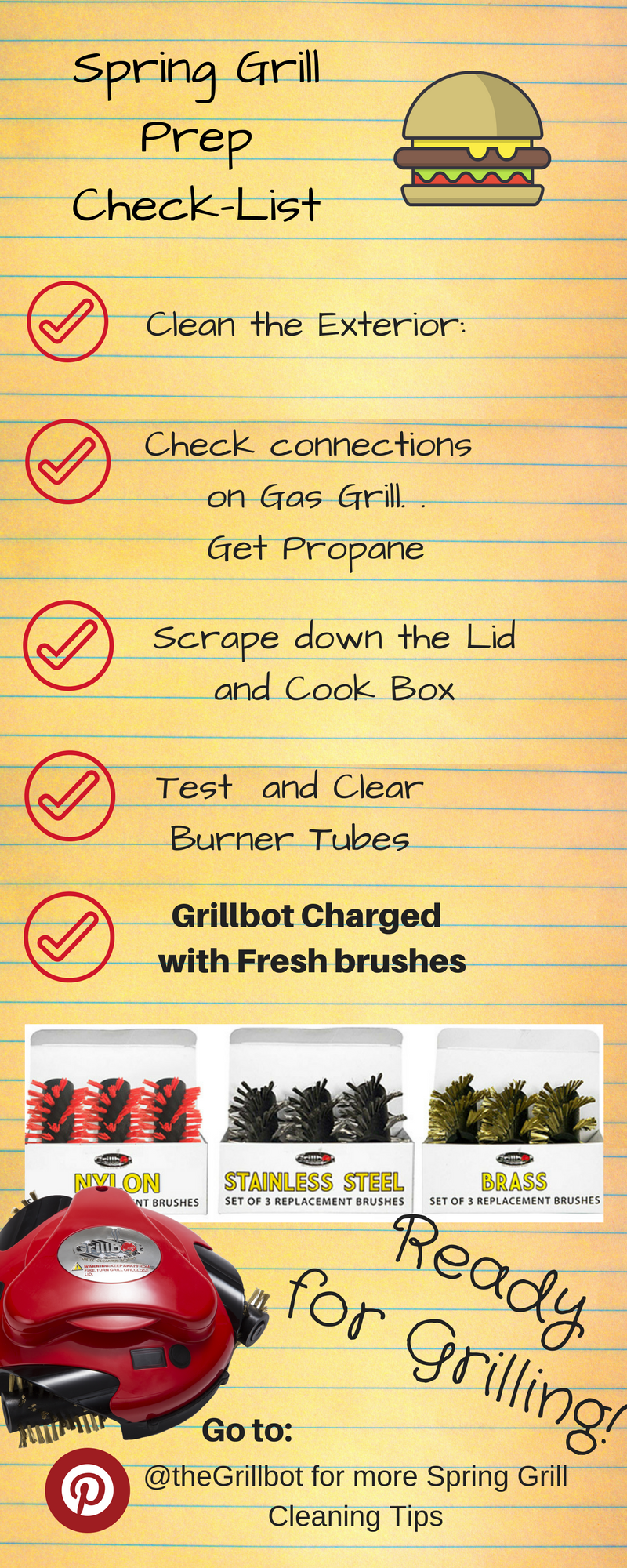 Tips for Spring Grill Cleaning: