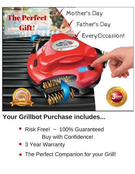 New-Age Momma Agrees! Grillbot Makes the PERFECT GIFT!