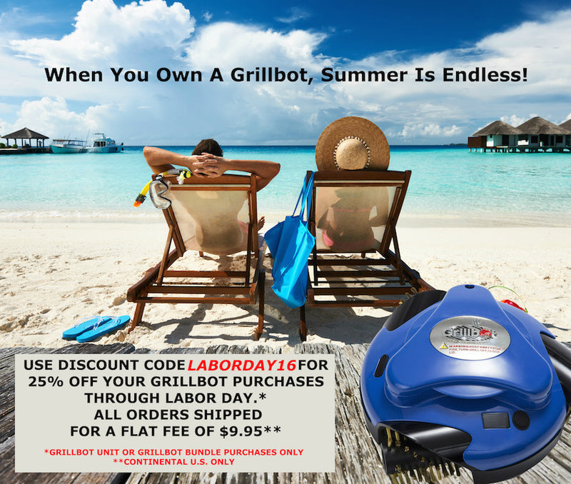 Labor Day Savings with Grillbots
