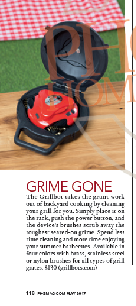 Grillbot IS a Fun Find in the Phoenix Home and Garden Magazine!