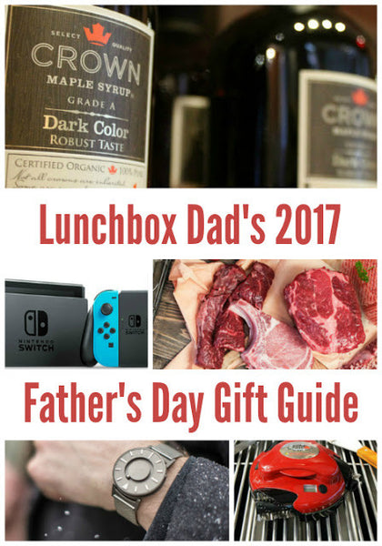 Lunchbox Dad Loves Grillbot! Father's Day Gift Guide 2017