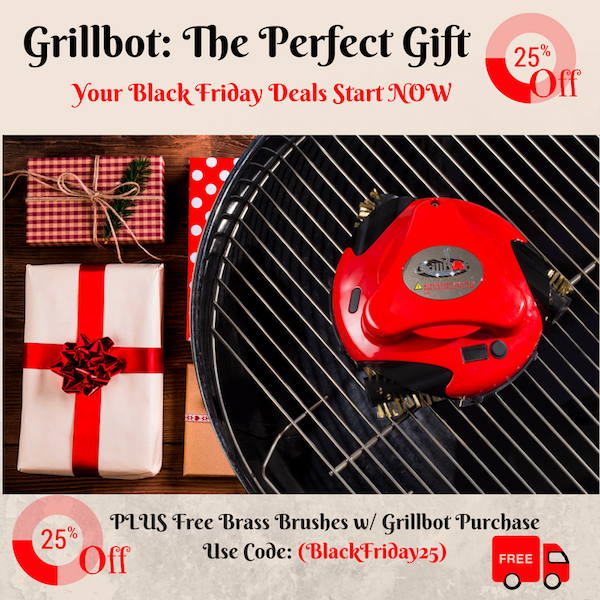 Get Black Friday Savings NOW at Grillbot