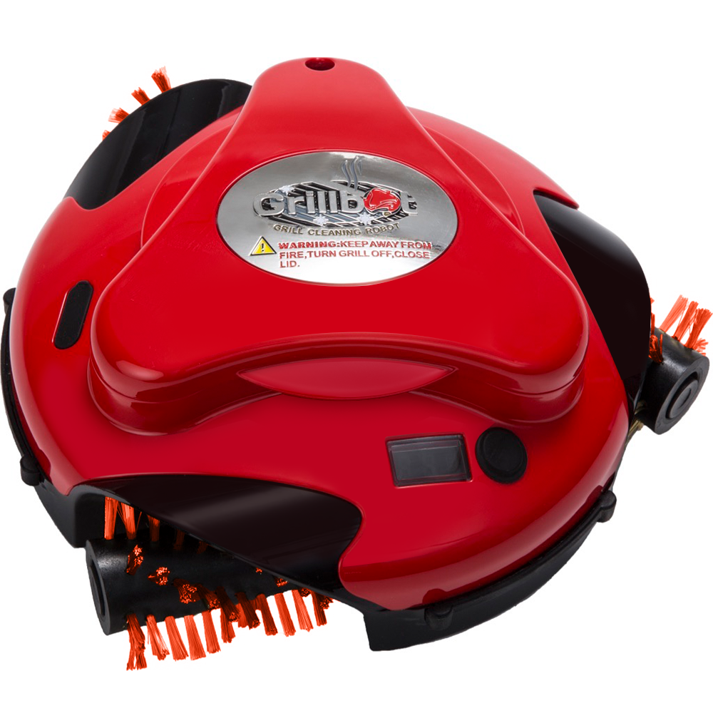 Grillbot Red:  Automatic Grill Cleaning Robot!