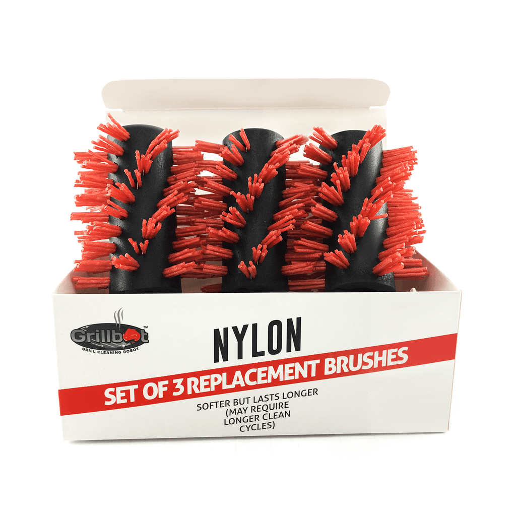 Grillbot - Nylon Replacement Brushes