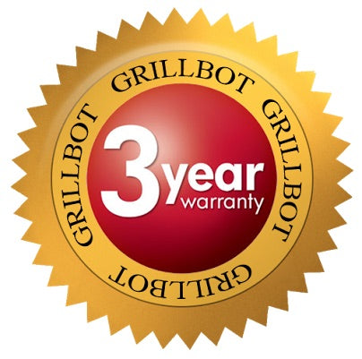 GRILLBOT 3 YEAR WARRANTY