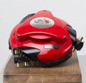 Red Grillbot Automatic grill cleaner