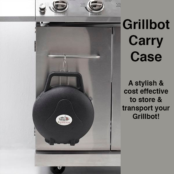 Grillbot - Red BBQ Grill Bundle Set