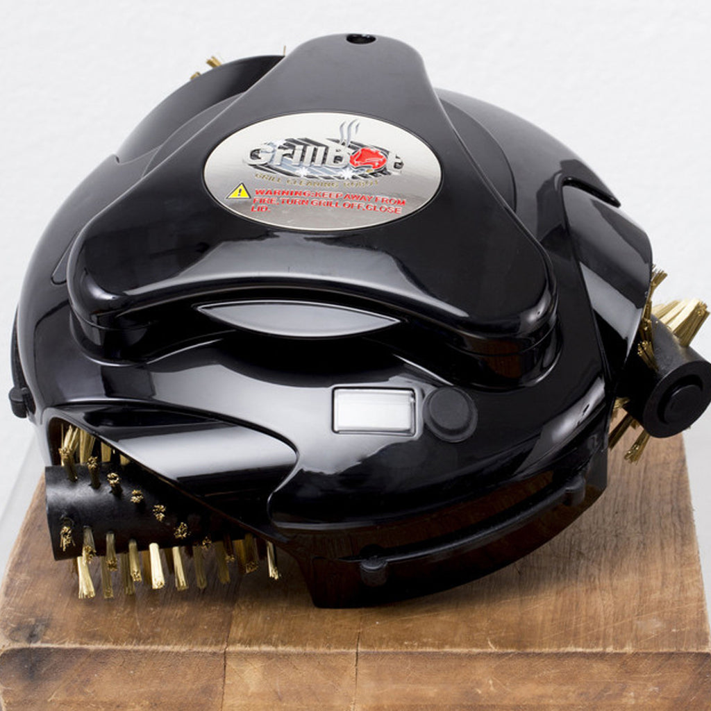 Black Grillbot Automatic grill cleaner