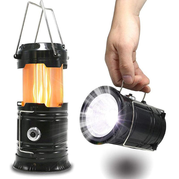 FLAME 3-in-1 Portable LED Lantern - Ibexdoo