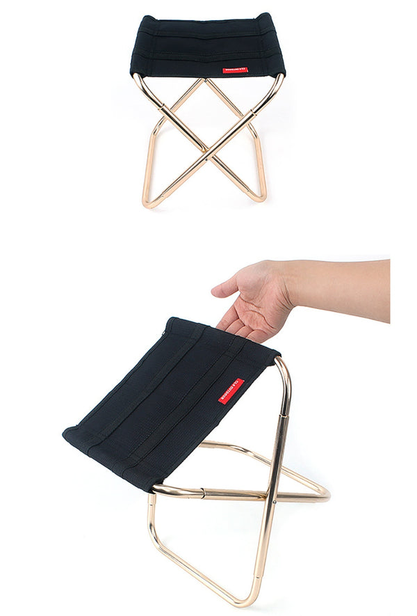 Folding Camp Stool - Ibexdoo