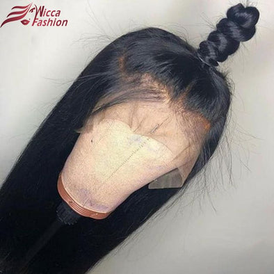 Lace Frontal Wigs Black Hair Black Hair Colour
