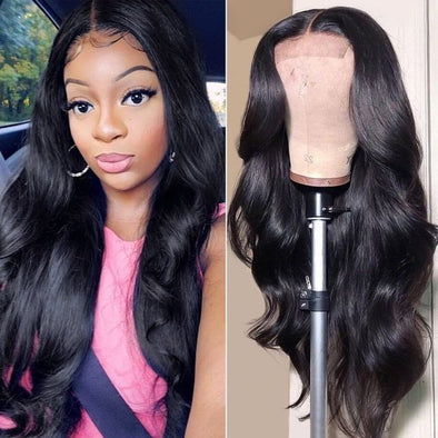 Lace Frontal Wigs Black Hair Black Hair Gel